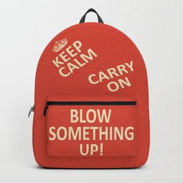 Keep Calm...Destroy! Backpack