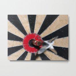 Bullseye Metal Print
