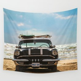 Surf's Up Sauble Wall Tapestry