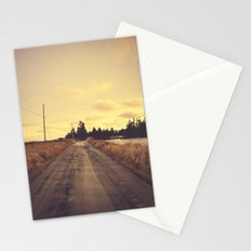 The Road Not Taken Stationery Cards