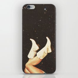 These Boots - Space iPhone Skin