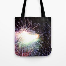 Electric night Tote Bag