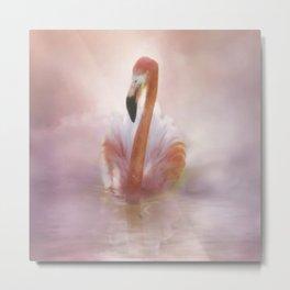 Flamingo Dream Metal Print