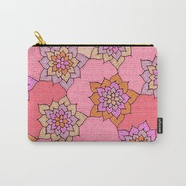 zakiaz hot pink lotus Carry-All Pouch