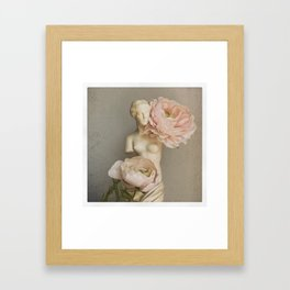 Venus with Roses Framed Art Print