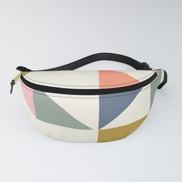 Floating Triangle Geometry Fanny Pack