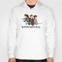supernatural Hoodies featuring Supernatural by KewlZidane