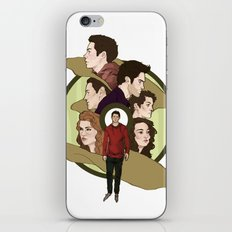 Beacon Pack iPhone & iPod Skin