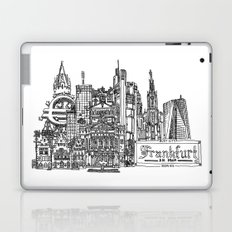 Busy City – Frankfurt am Main Laptop & iPad Skin