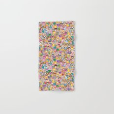 emoji / emoticons Hand & Bath Towel