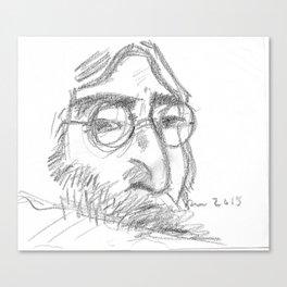 John Give Peace a Chance #Iamthewalrus Canvas Print