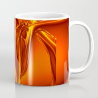 waterfall Mugs featuring waterfall by donphil