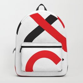 Two Hearts Together Backpack