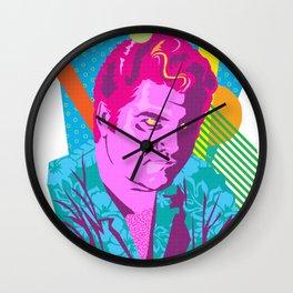 STAN :: Memphis Design :: Miami Vice Series Wall Clock