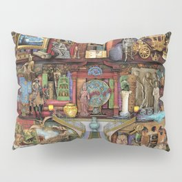 The Museum Shelf Pillow Sham