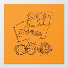 Ben's Monster Trucks no.3 Canvas Print