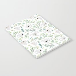 Koala and Eucalyptus Pattern Notebook