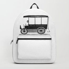 Police car Backpack