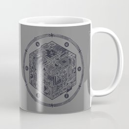 The Folly of Time and Space, Explained Coffee Mug