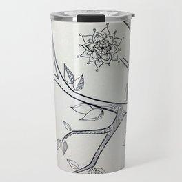mandala tree 1 Travel Mug
