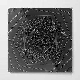 Tranquil series - Hexagon Metal Print