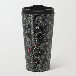 Wolf Pack Pattern Travel Mug