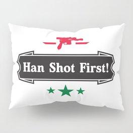 Han Shot First Pillow Sham