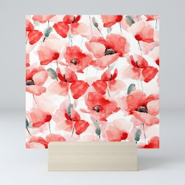 Poppies Mini Art Print
