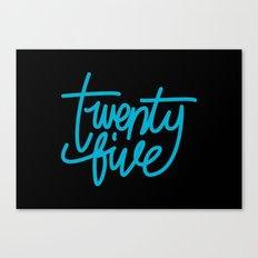 20five Canvas Print