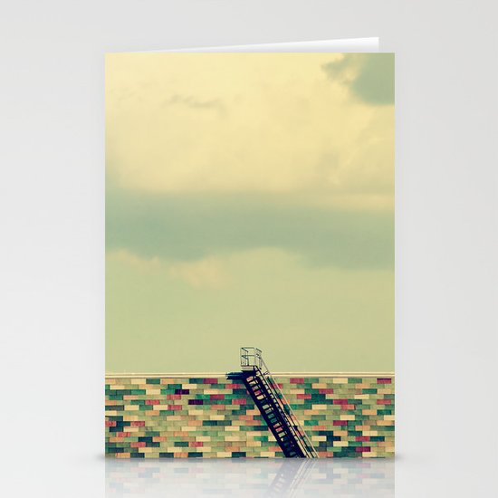 Ladder to Nowhere Stationery Cards