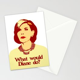 What Would Diane do? Stationery Cards