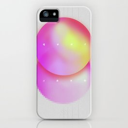 Totally Square - Abstract Poster iPhone Case