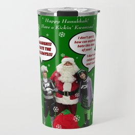 Danny Phantom Christmas and holiday card Travel Mug