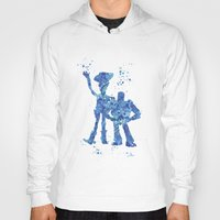 toy story Hoodies featuring Woody and Buzz Toy Story Disneys by Carma Zoe