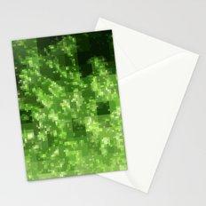 Digital Pointillism Stationery Cards