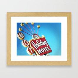 Holiday Hotel Framed Art Print
