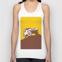 jeep Tank Tops featuring car jeep by Luciano de Paula Almeida