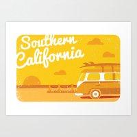 Southern California Art Print