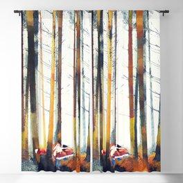 Autumn Hunt Blackout Curtain