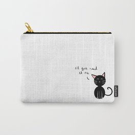 All You Need is A Cat Carry-All Pouch