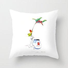 Bird of Paradise 2016 Throw Pillow