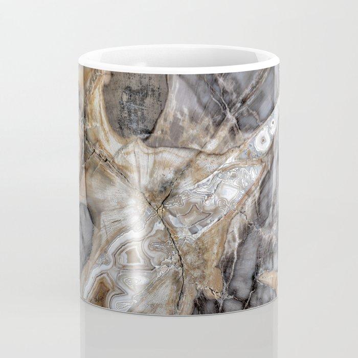 Petrified wood 3264 Coffee Mug