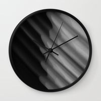 fabric Wall Clocks featuring fabric by eightjay