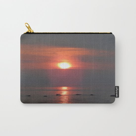 Ste-Anne-Des-Monts Sunset on the Sea Carry-All Pouch