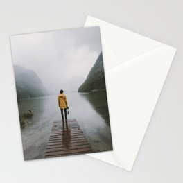 Mountain Lake Vibes - Landscape Photography Stationery Cards