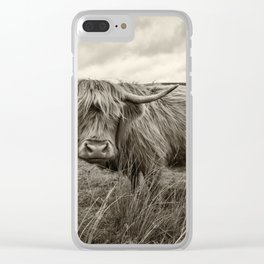 Moo Hair Clear iPhone Case