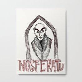 Nosferatu Metal Print