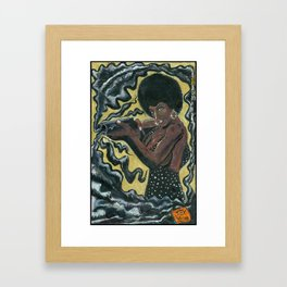Bad Girls of Motion Pictures #2 - Coffy Framed Art Print