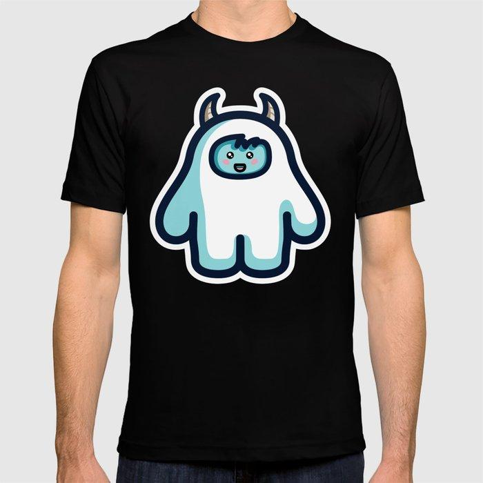 Kawaii Cute Abominable Snowman Yeti T-shirt