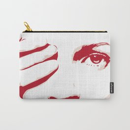 PINK MOSS Carry-All Pouch